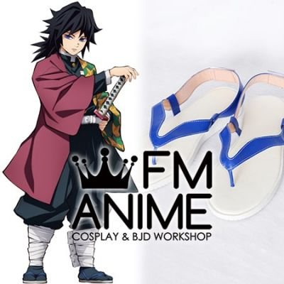 Demon Slayer: Kimetsu no Yaiba Giyu Tomioka Cosplay Shoes