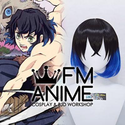 Demon Slayer: Kimetsu no Yaiba Inosuke Hashibira Cosplay Wig