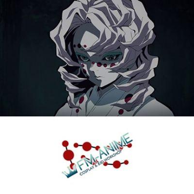 Demon Slayer: Kimetsu no Yaiba Lower Moon Five Rui Cosplay Tattoo Stickers