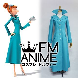 Despicable Me 2 Lucy Wilde Coat Cosplay Costume