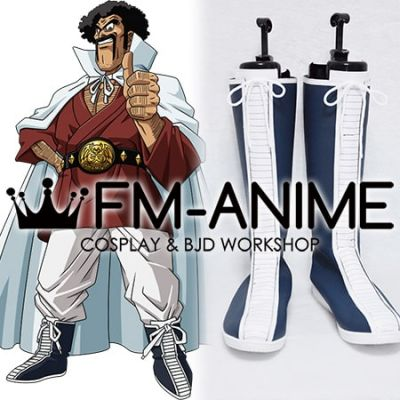 Dragon Ball Z Mr. Satan Cosplay Shoes Boots
