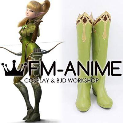Dragon Nest: Warrior's Dawn Liya Cosplay Shoes Boots