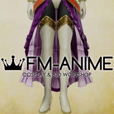 Dragon Quest 11 Jade Warrior Princess Cosplay Shoes Boots
