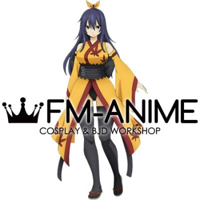 Edens Zero Homura Kogetsu Kimono Anime Version Cosplay Costume