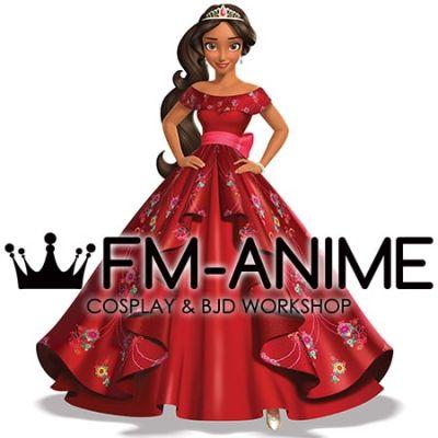 Elena of Avalor Disney Princess Elena Formal Attire Dress Cosplay Costume