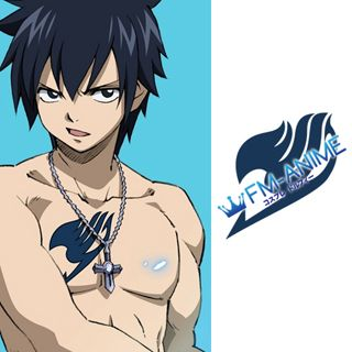 Fairy Tail Gray Fullbuster Cosplay Tattoo Stickers