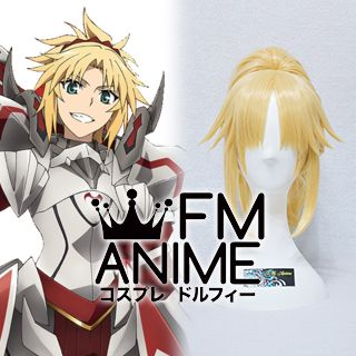 Fate/Apocrypha Fate/Grand Order Saber of Red Mordred Cosplay Wig
