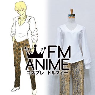 Fate/Zero Gilgamesh Archer Casual Cosplay Costume