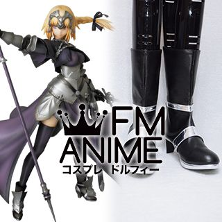 Fate/Apocrypha Fate/Grand Order Jeanne d'Arc Ruler Cosplay Shoes Boots