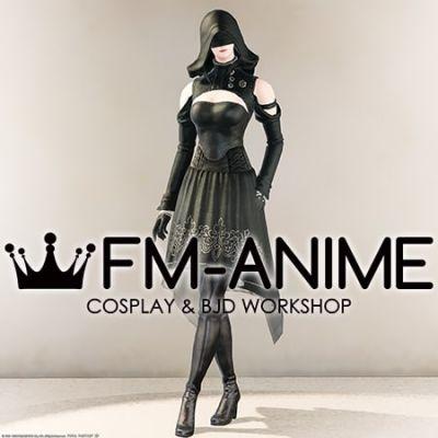 Final Fantasy 14 YoRHa Type-51 Aiming Dress Cosplay Costume