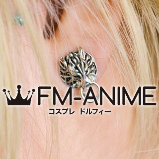 Final Fantasy VII Cloud Strife Clip-on Earrings Cosplay Accessories Props