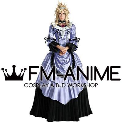 Final Fantasy VII Remake FFVII R Cloud Strife Ball Dress Cosplay Costume