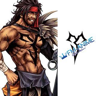 Final Fantasy X Jecht Cosplay Tattoo Stickers