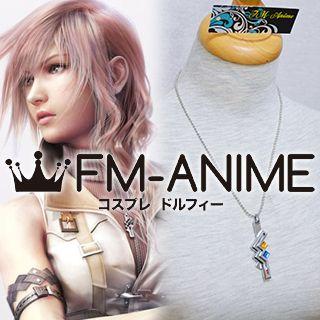Final Fantasy XIII Lightning Metal Necklace Cosplay Accessories Prop