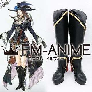 Final Fantasy XIV: Stormblood Bard Af3 Cosplay Shoes Boots