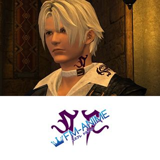 Final Fantasy XIV Thancred Waters Cosplay Tattoo Stickers