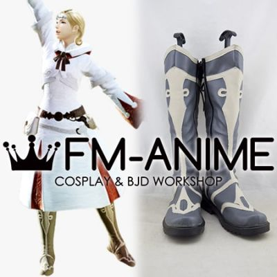 Final Fantasy XIV White Mage Cosplay Shoes Boots