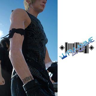 Final Fantasy XV Prompto Argentum Code Cosplay Tattoo Stickers