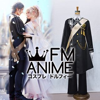 Final Fantasy XV The Dawn of the Future Noctis Lucis Caelum Wedding Ending Cosplay Costume