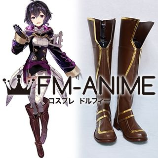 Fire Emblem Awakening Heroes Female Morgan: Lass from Afar Cosplay Shoes Boots
