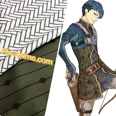 Fire Emblem Echoes Python Cosplay Pattern Textiles Fabric