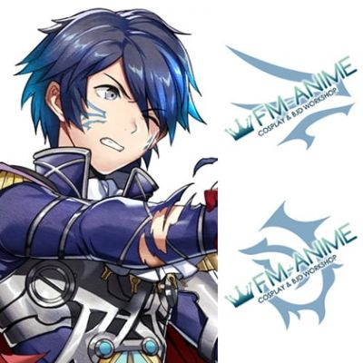 Fire Emblem Heroes Itsuki Finding a Path Cosplay Tattoo Stickers