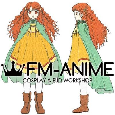 Fire Emblem: Radiant Dawn Yune Cosplay Costume