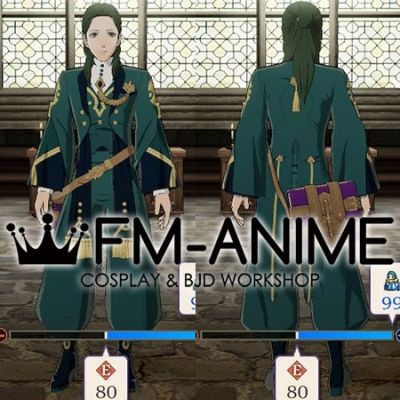 Fire Emblem: Three House Linhardt von Hevring After 5 Year Time Skip Cosplay Costume