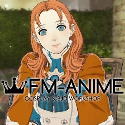 Fire Emblem: Three Houses Annette Fantine Dominic Timeskip Cosplay Wig