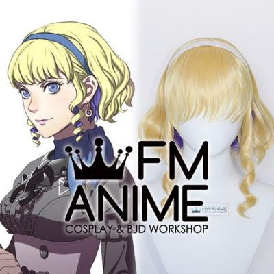 Fire Emblem: Three Houses Constance Von Nuvelle DLC Cosplay Wig