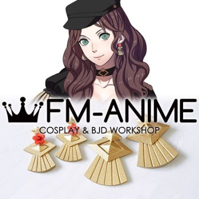 Fire Emblem: Three Houses Dorothea Arnault Cosplay Earrings Accessories