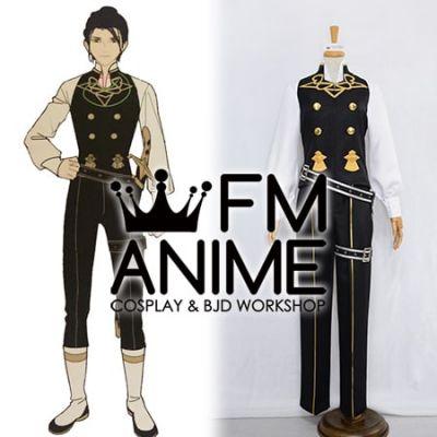 Fire Emblem: Three Houses Felix Hugo Fraldarius Military Uniform Cosplay Costume (Male M)