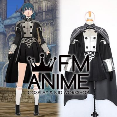 Fire Emblem: Three Houses Female Byleth DLC Officers Academy Uniform Cosplay Costume