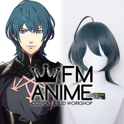 Fire Emblem: Three Houses Male Byleth Smoky Blue Cosplay Wig