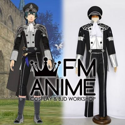 Fire Emblem: Three Houses Male Byleth DLC Officers Academy Uniform Cosplay Costume