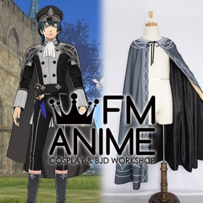 Fire Emblem: Three Houses Male Byleth DLC Officers Academy Uniform Cloak Cosplay Costume