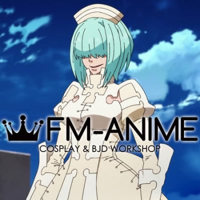 Fire Force Ritsu Cosplay Wig