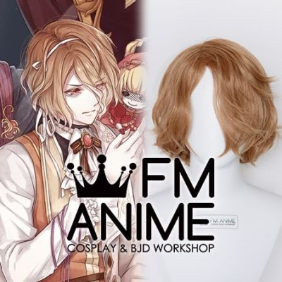 Food Fantasy Souffle Cosplay Wig