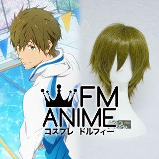Free! - Iwatobi Swim Club Makoto Tachibana Cosplay Wig