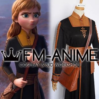 Frozen 2 Disney Anna Travel Crossbody Bags Cosplay