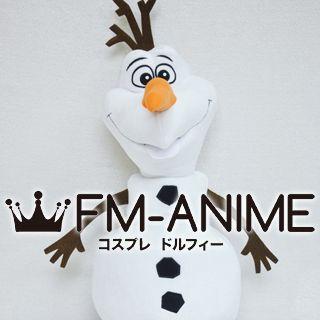 [Display] Frozen (Disney 2013 film) Olaf Snowman Plush Doll Cosplay