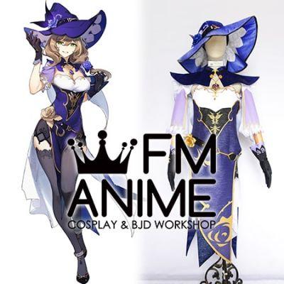 Genshin Impact Lisa Minci Cosplay Costume Visions Accessories