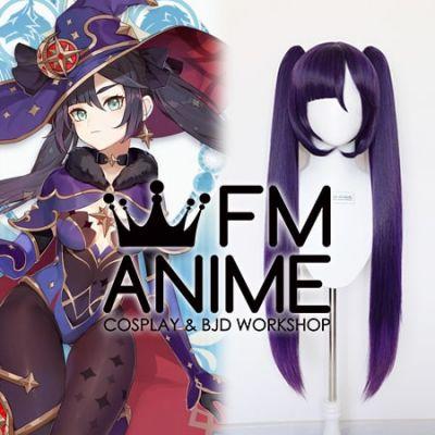 Genshin Impact Mona Megistus Cosplay Wig Headdress