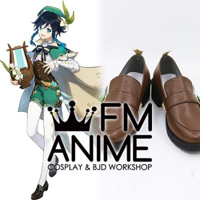 Genshin Impact Venti Cosplay Shoes