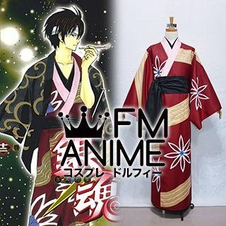 Gintama Shinsuke Takasugi Manga Volume 12 Kimono Cosplay Costume