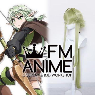Goblin Slayer High Elf Archer Erufu Cosplay Wig