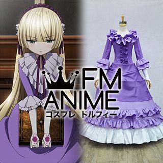 Gosick Victorique de Blois Purple Dress Cosplay Costume
