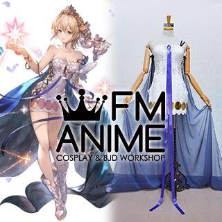 Granblue Fantasy Europa Dress Cosplay Costume Crown