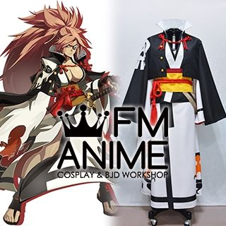 Guilty Gear Xrd- Revelator- Baiken Kimono Cosplay Costume