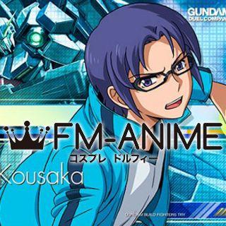 Gundam Build Fighters Try Yuuma Kousaka Cosplay Costume